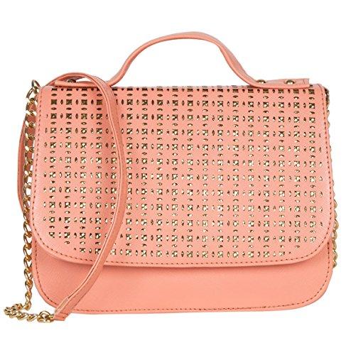 ADISA SL5004 peach women girls party sling bag