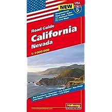 Hallwag USA Road Guide 05. California 1 : 1 000 000: Nevada. Straßenkarte. Road map. Index. National Parks. City Maps: San Francisco, Yosemite, Los ... Valley, Las Vegas (Hallwag Strassenkarten)