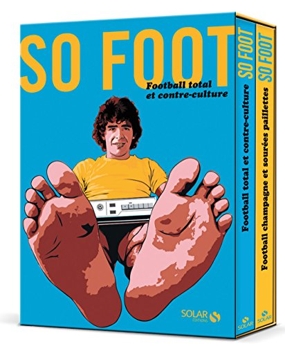 Coffret so foot : Coffret en 2 volumes : Football total et contre-culture ; Football champagne et soirées paillettes par Solar