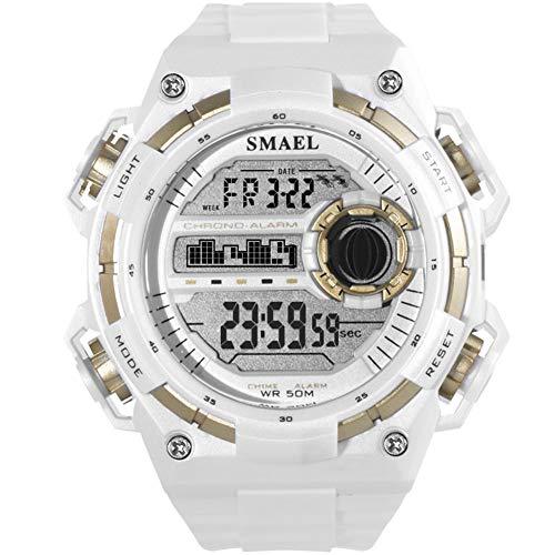 c8b2ec60393 SW Watches Sport Digital Armbanduhren Shock Resist Military Männer  Wasserdichte Uhr LED Automatische Mechanische Uhren SMAEL