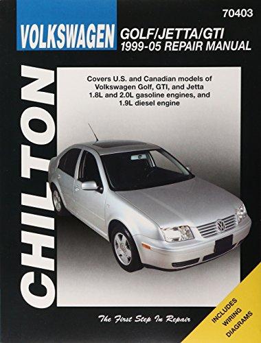 Chilton's Volkswagen Golf/ Jetta 1999-05 Repair Manual