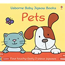 Pets Baby Jigsaw Book
