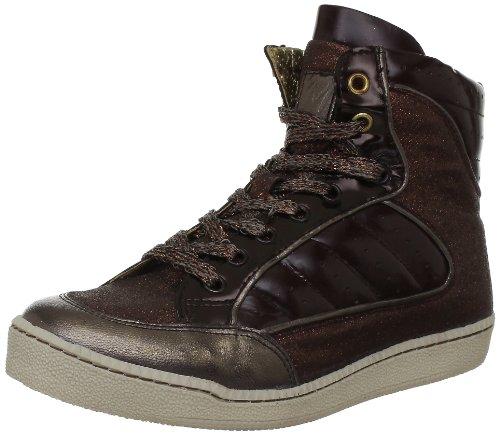 M by Monderer  Shaq,  Sneaker donna, Marrone (Marron (Paillettes Marron)), 40