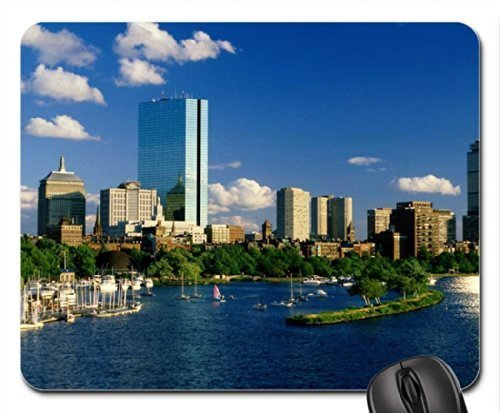 Boston Back Bay (Back Bay Boston Mouse Pad, Mousepad (Skyscrapers Mouse Pad) by Rock Bull)