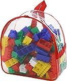 Trampoliere Builder Costruzione Jumbo giocattolo del mattone Situato in Zaino (100 Pezzi)
