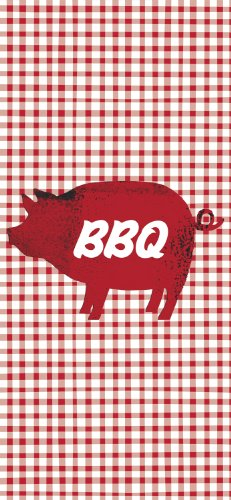 paperproducts-design-35063-bbq-pig-red-gingham-100-percent-cotton-kitchen-bar-towel