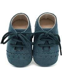 Reasoncool Bambino pattini del bambino Sneaker antiscivolo morbida Sole Scarpe stringate