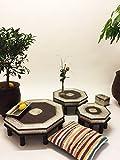 Marrakesch Orient & Mediterran Interior ® Orientalische Tische Shobhana, 3er Set