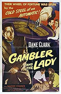 Reproduction of a poster presenting - Gambler And The Lady