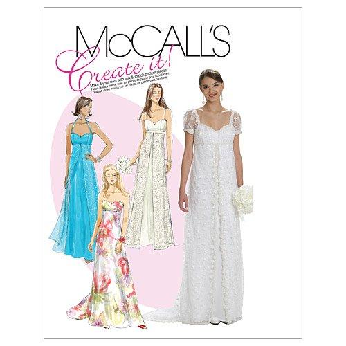 McCalls M 6030 A5(6-14) Schnittmuster zum Nähen, Elegant, Extravagant, Modisch