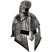 Spartan casco Headware Accesorio para históricos antiguos griegos y romanos Fancy Dress Up Disfraces y Trajes