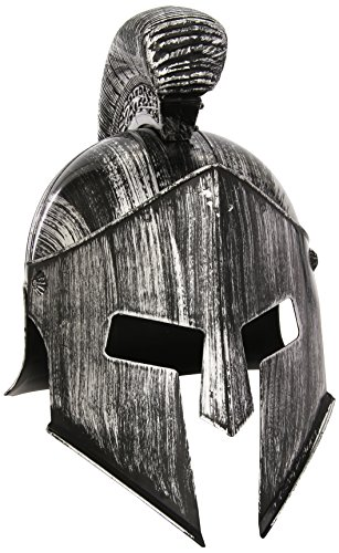 Imagen de spartan casco headware accesorio para históricos antiguos griegos y romanos fancy dress up disfraces y trajes