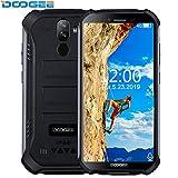 "DOOGEE S40 Smartphone - IP68/IP69K Impermeabile Robusto Outdoor Cellulari Offerte Android 9.0 MTK6739 Quad Core Display da 5,5"" 3GB+32GB 4650 mAh 8,0 MP Fingerprint Face Sblocco NFC Nero"
