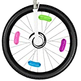 12 Stück Fahrradspeichen Lichter Katzenauge Clips Speichenreflektoren Fahrrad