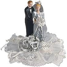 Bridal Coppia for Silver Wedding