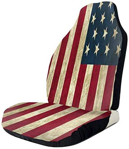 America bandiera posteriore vintage coprisedile auto impermeabile resistente seggiolino auto protezione universale confortevole seggiolini auto tappetino in poliestere cuscino a secco rapido