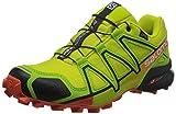 Salomon Herren Speedcross 4 GTX Trailrunning-Schuhe,Gelb (Sulphur Spring/lime Green/flame), 40 2/3 EU
