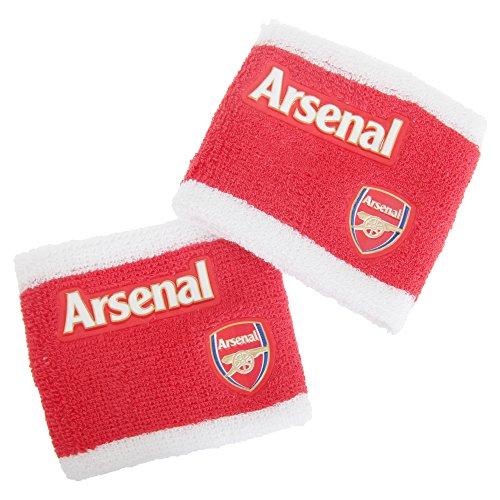 Schweißbänder mit Arsenal FC Design, zweifarbig, 2 Stück