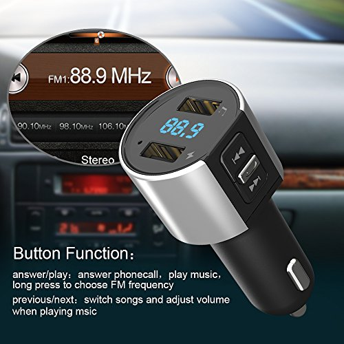 bluetooth fm transmitter test vergleich 2018 top 10. Black Bedroom Furniture Sets. Home Design Ideas