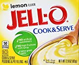 JELLO LEMON COOK AND SERVE PUDDING AND PIE FILLING 1 x 82g JELL-O
