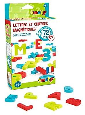 Smoby - 430102 - 72 Lettres et Chiffres Magnétiques