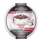 Backform Push Pan mit Silikondichtung, • 20x5 cm PushPan Hebebodenform Springform Kuchen Back Form Tortenring Kuchenring