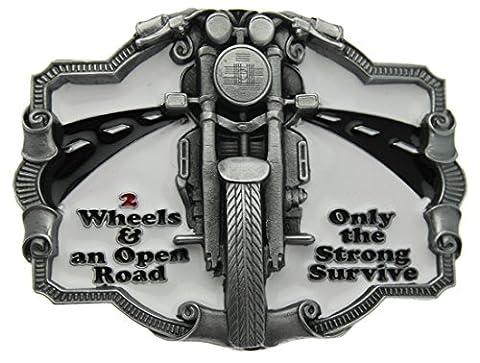 Boucle de ceinture Bike, 2 Wheels & An Open Road en un de mes présentation en coffrets.