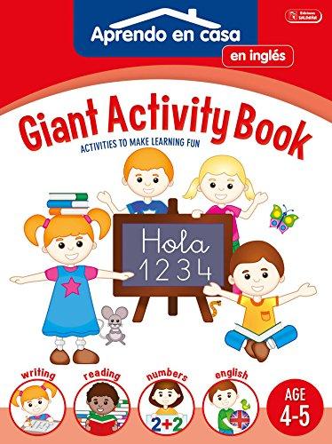 SÚPER ACTIVIDADES EN INGLÉS 4-5: Aprendo En Casa Inglés. 4 - 5 Años (APRENDO EN CASA SÚPER ACTIVIDADES EN INGLÉS) por Vv.Aa