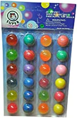 Toysdelivery Crazy ball Set (Multicolour) - 24 Balls