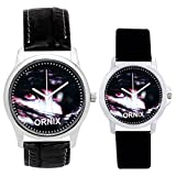 ORNIX Multi-Colour Dial Analogue Watch f...