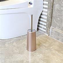 Wc WC continental creativa combinación de cepillo de acero inoxidable, kit de aseo con la base trípode ,B-10.5*38.5*21.5cm cepillo de limpieza