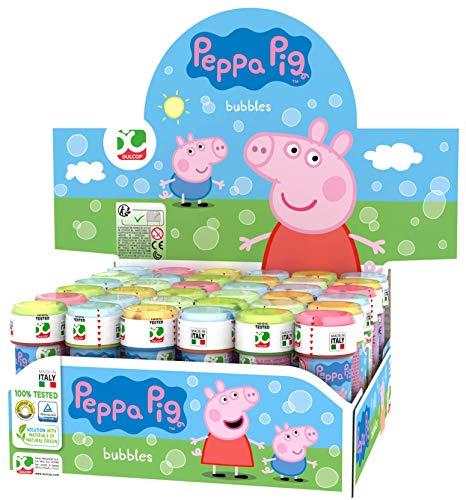 ColorBaby - Caja pomperos Peppa Pig con 36 Unidades de 60 ml (24609)