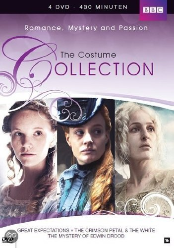 BBC Costume Dramas Vol 1: GREAT EXPECTATIONS (2011) / THE CRIMSON PETAL & THE WHITE (2011) / THE MYSTERY OF EDWIN DROOD (2012) (4 DVD Box Set) [import] by Jack Roth