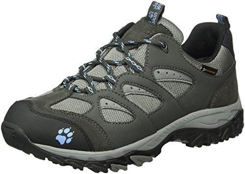 Jack Wolfskin MTN STORM TEXAPORE W Damen Trekking- & Wanderhalbschuhe Grau (air blue 1095)