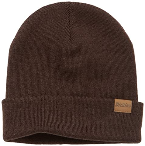 Dickies Men's Alaska Beanie, Dark Brown, One Size
