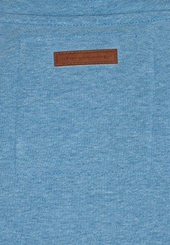 Naketano Male Zipped Jacket Ivic VIII Light Blue Melange