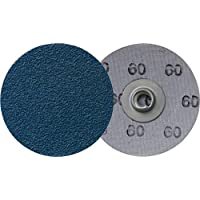 Klingspor QMC 411 Quick change discos, 76 mm, grano 80, 50 unidades