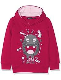 Blue Seven Cooles Mädchen Kapuzensweatshirt Mit Moster-Der Mund Lässt Sich Öffnen, Sweat-Shirt Fille