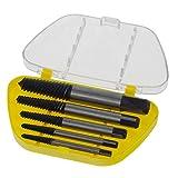 Smartfox Schraubenausdreher Schraubenentferner Schraubenzieher zum Entfernen beschädigter Schrauben 5-teiliges Set
