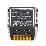 sypure (TM) 1pcs 20A 12V/24V Panel Solar controlador de carga de la batería regulador protección segura caliente en todo el mundo