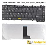 Lap Gadgets Laptop Keyboard For Toshiba Satellite C640 Series 6 months warranty with Free Keyboard Protector Skin by Lap Gadgets