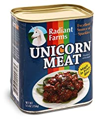 Idea Regalo - ThinkGeek Canned Unicorn Meat