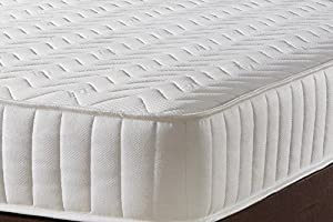 Mr Sleeps Beds Limited Memory Foam Luxury Quilted 3,0 Single Spring Mattress