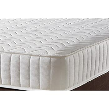 memory foam luxury quilted 30 single spring mattress