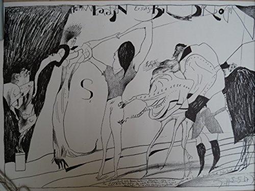 (Hamburg 1929 - 1995). Hermann Laatzen Ersatz-Bilderbogen. Plakat von 1967. Signiert. 44 x 63 cm. -