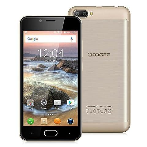 Doogee Shoot 2 Unlocked 3G Smartphone, 5.0
