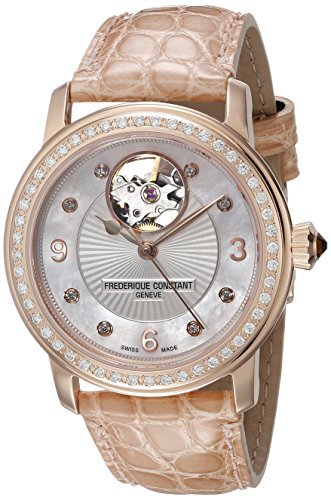Frederique Constant Foundation  Femme Diamants 34mm Montre FC310HBAD2PD4