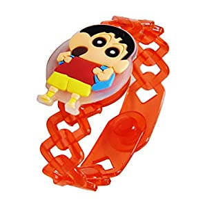 chandrika Pearls gems & jewellers rakshabandhan Special led Rakhi for Boys & Kids : Shinchan LED Light Rakhi