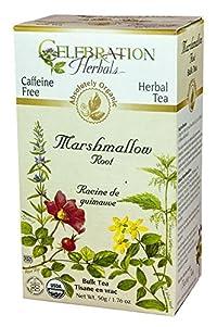 Celebration Herbals Organic Marshmallow Root Bulk Tea Caffeine Free -- 1.76 oz