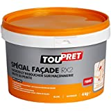 Toupret 251090 Enduit Spécial Façade RX2 pâte 4 kg